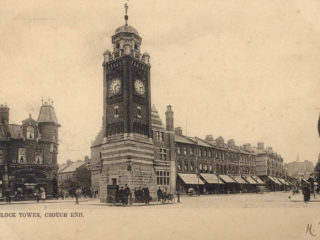Clock Tower & Broadway,1904