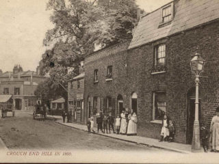 Crouch End Hill, 1890