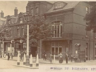 High Street, Hornsey, National Hall built 1888