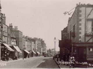 Postcard of Highgate High Street