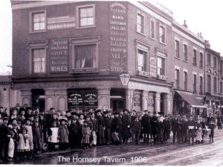 Hornsey Tavern, High Street, 1906