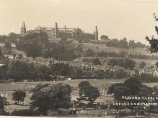 Alexandra Palace and Crouch End Playing Fields