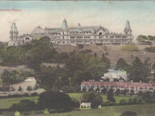 Second Palace with-Crouch End Playing Fields in foreground