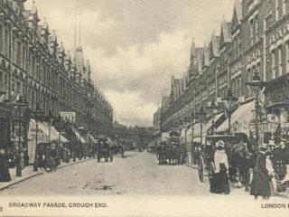 Shopping Parades, Tottenham Lane, Crouch End