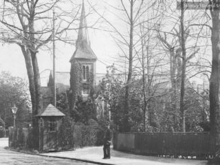 St James Church,1890