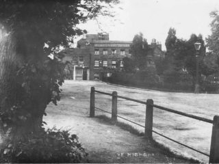 Postcard of The Flask Inn near South Grove, Highgate
