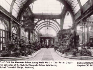 The Palm Court during WW1 when it was a German interment-camp