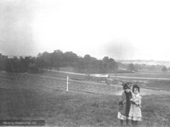 Harringay, Wightman Road from Station Path c1887