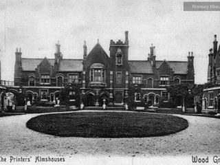 The Printers' Almshouses, Bounds Green Road