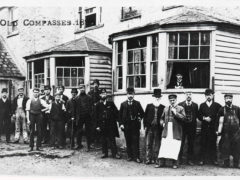 The Three Compasses High Street Hornsey 1860