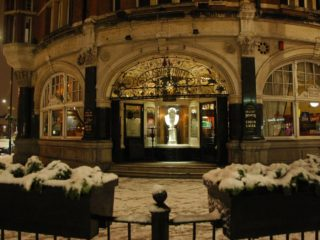 The Salisbury in the Snow