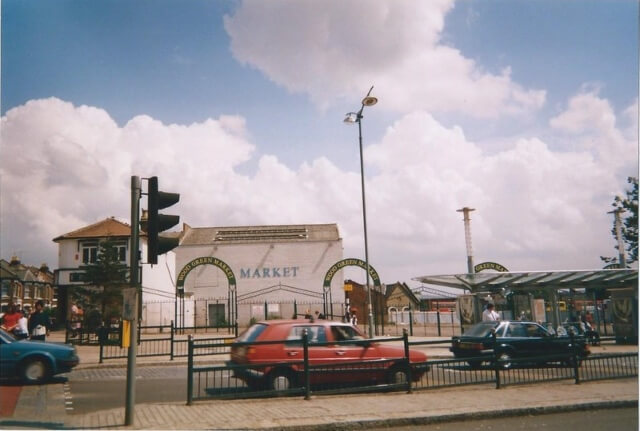 Hollywood Green, Wood Green : What was there before