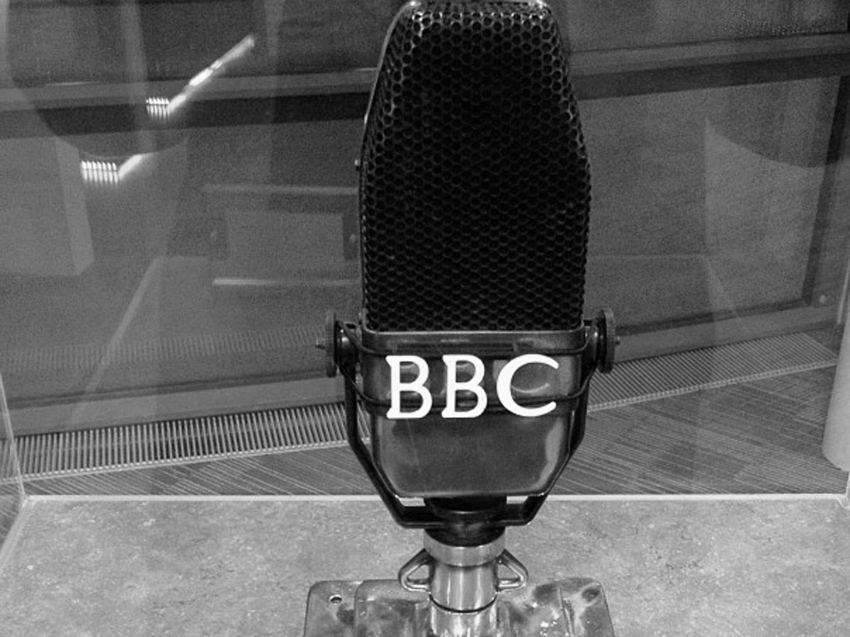 BBC Microphone from 1944