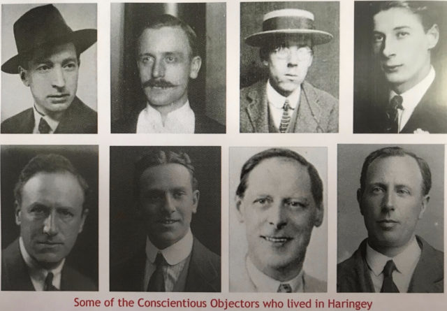Eight Conscientious objectors