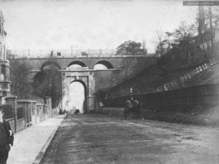 Highgate Archway, 1888