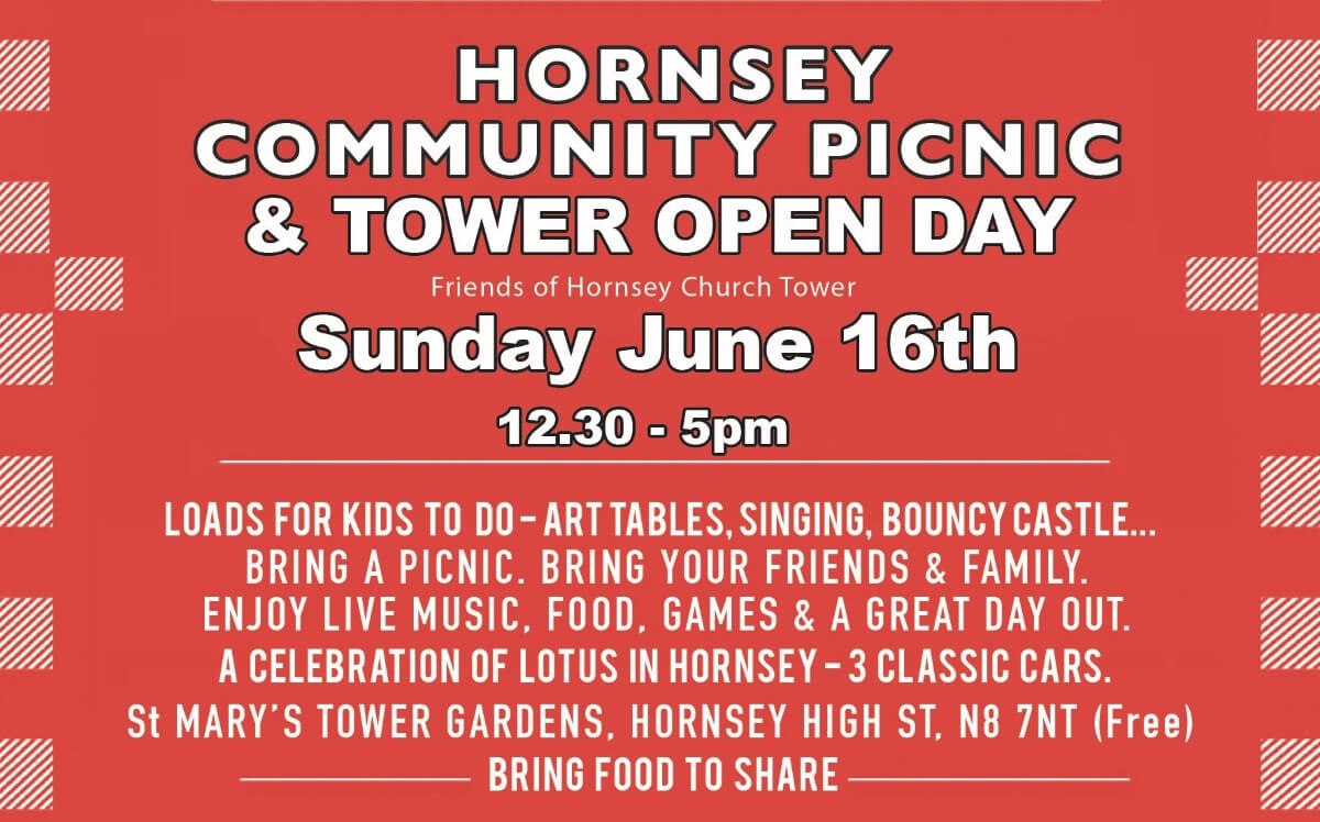 Hornsey Picnic poster