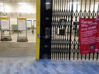 Finsbury Park Station N4, 1 May 2020 - Madeleine Minson