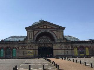 The East Court Car Park, Alexandra Palace, 11.40am 10th April 2020 - Deirdre Stowell-Smith