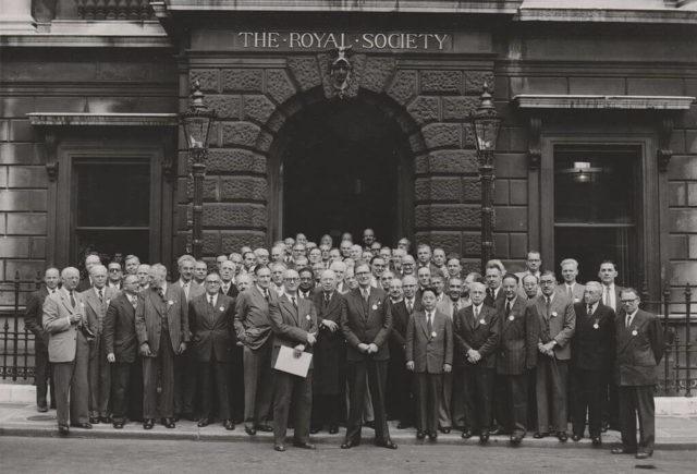 The Royal Society London 1952