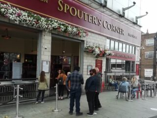Spouters Corner, Wood Green N22, 4 July 2020 - Rosalyn Byfield