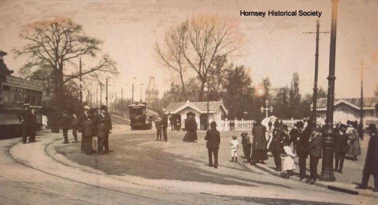Trams at Alexandra Palace