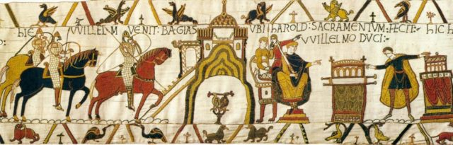 bayeux tapestry section