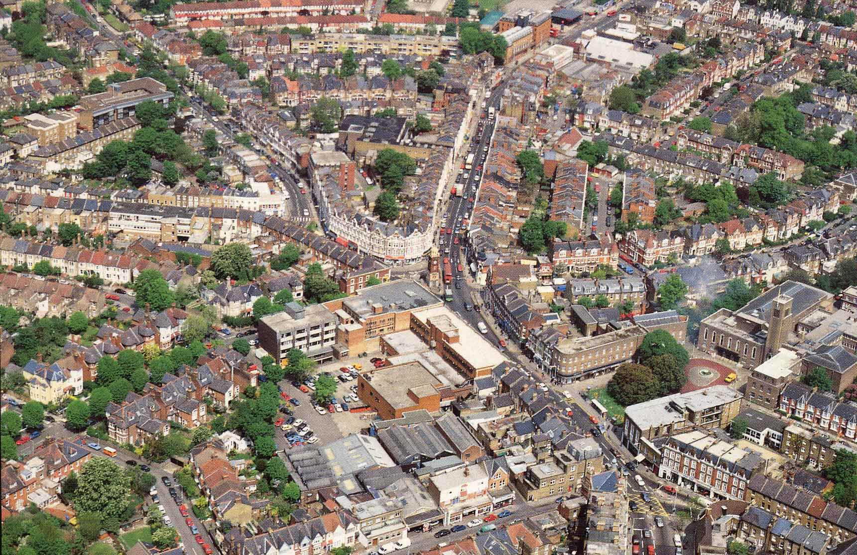 Aerial View of Crouch End