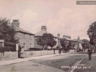 Cottages, Fortis Green Road