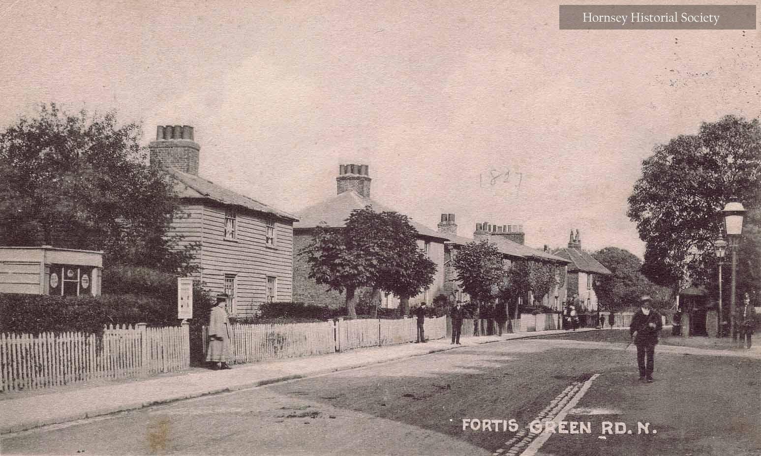 Cottages, Fortis Green Road