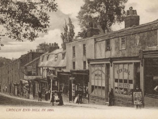 Crouch End Hill,1890