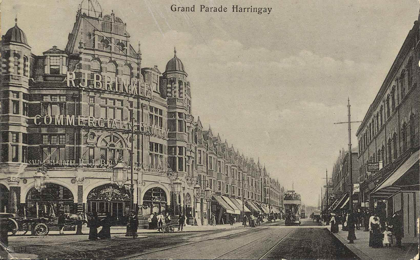 Grand Parade, Green Lanes, Harringay