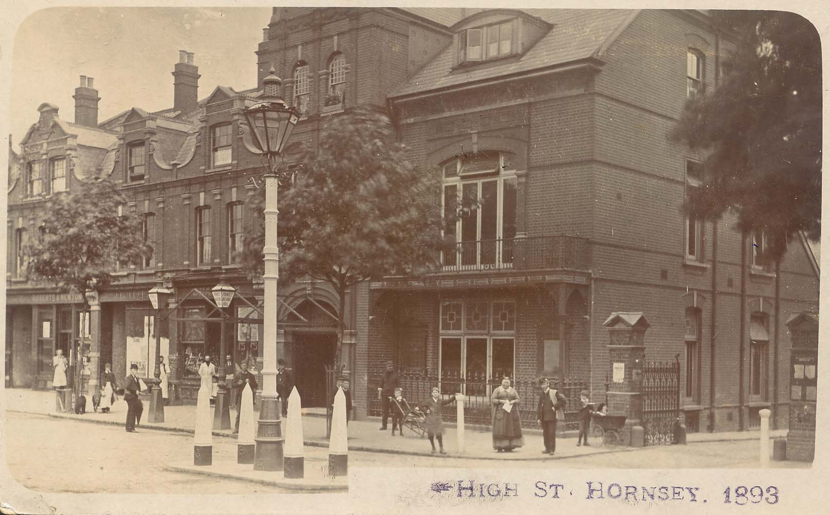 High Street, Hornsey, National Hall built 1888
