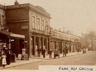 Park Road, in front of The Grove,1905