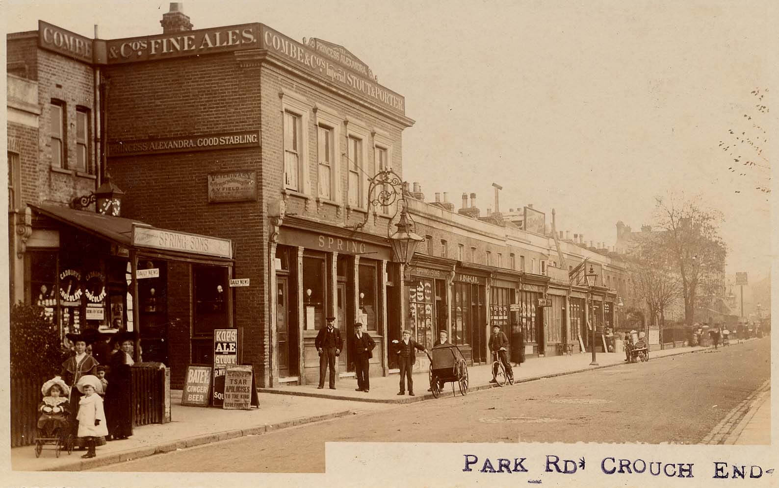 Crouch End Postcards - Hornsey Historical Society