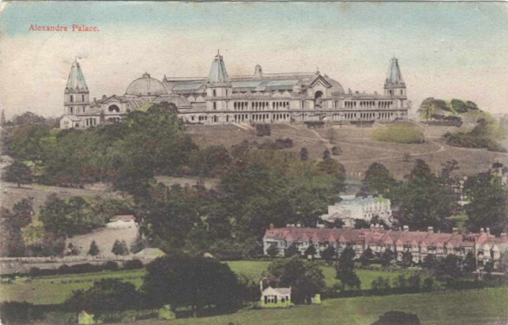 Alexandra Palace Amp Park Postcards