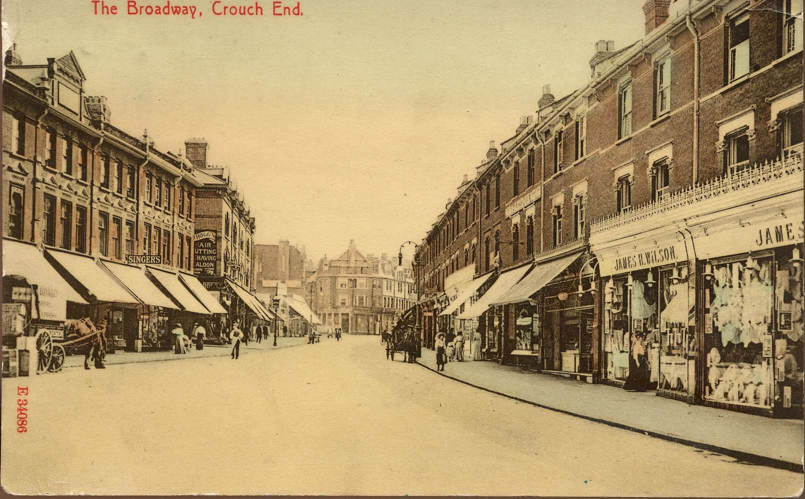 The Broadway, Crouch End,1904