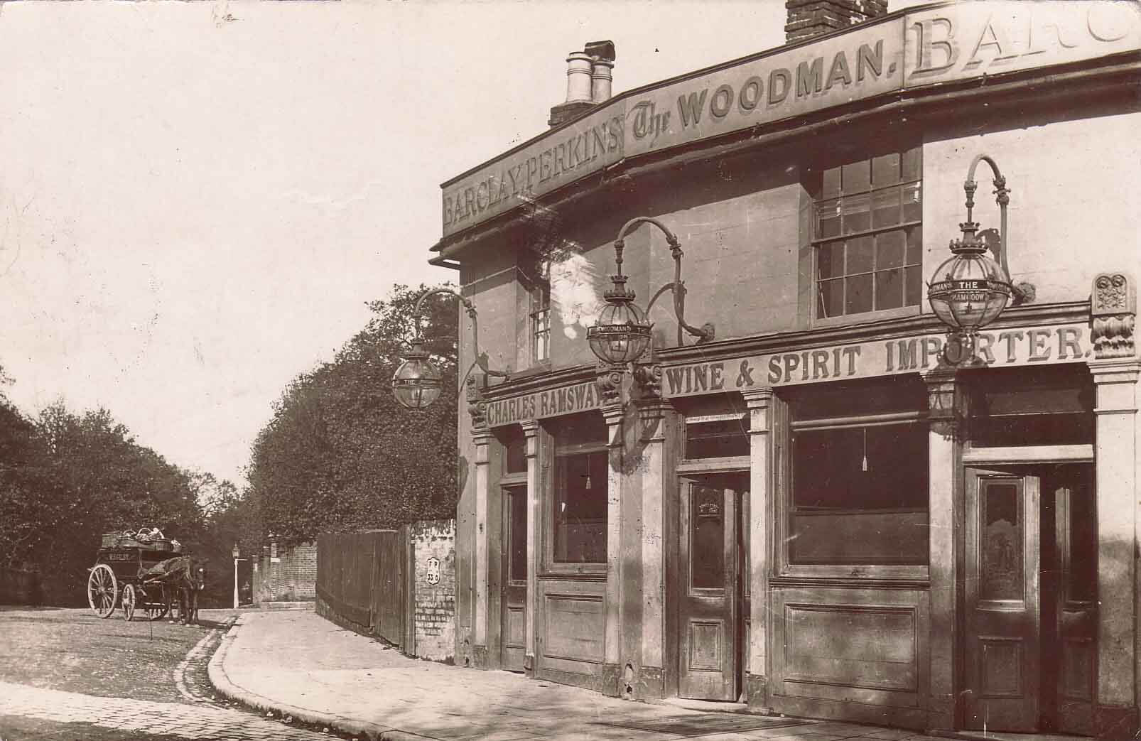 The Woodman, Archway Road,1880s