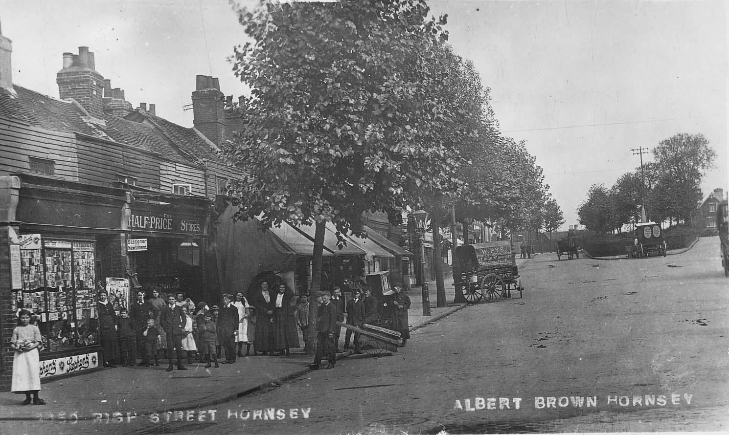 hornsey village postcards