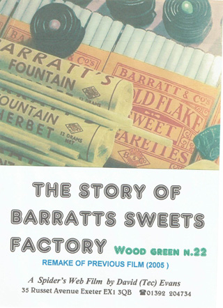Barratts Sweets Factory