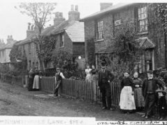 Cottages Nightingale Lane Hornsey 1894