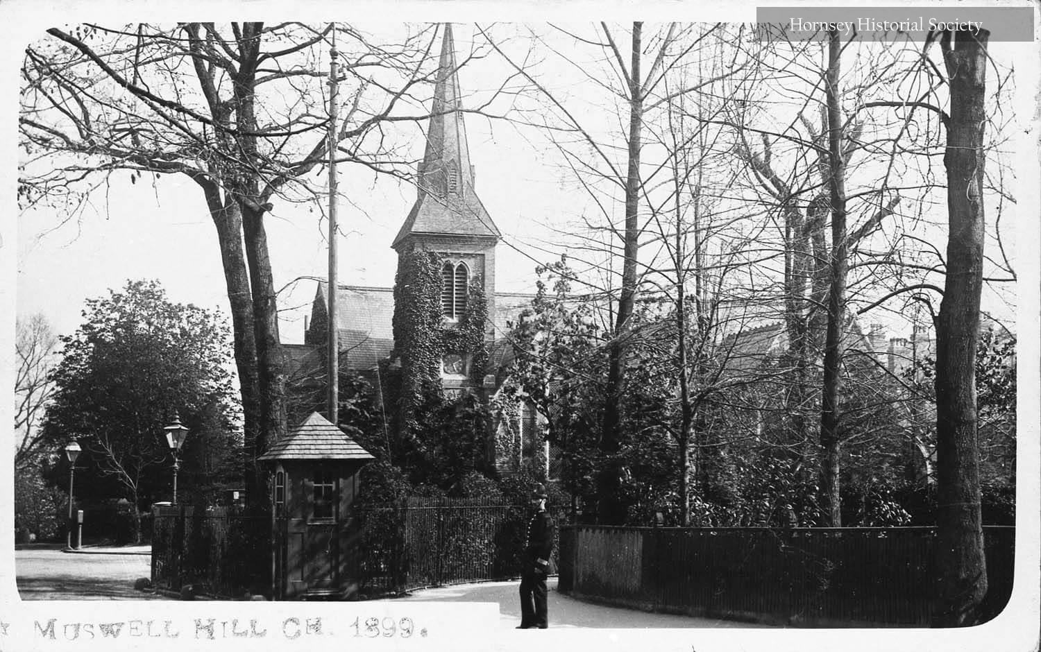First St James Church Muswell Hill in 1899