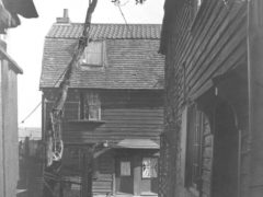 nsanitary Allens Court off Hornsey High Street circa 1910 demolished 1920s