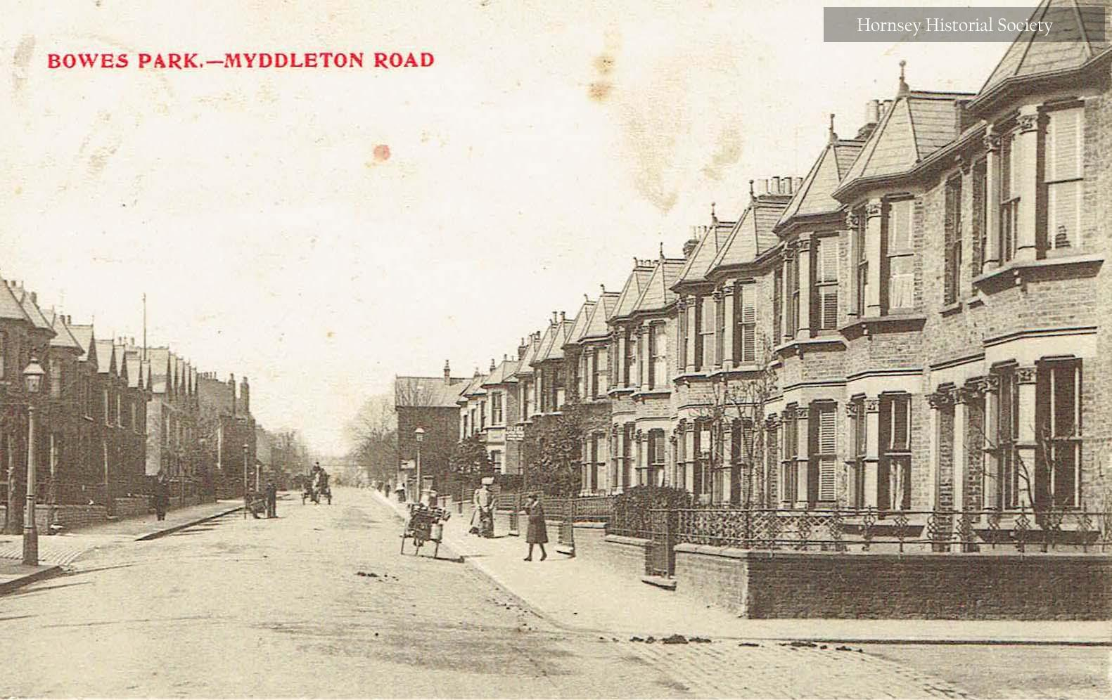 Myddleton Road - Bowes Park