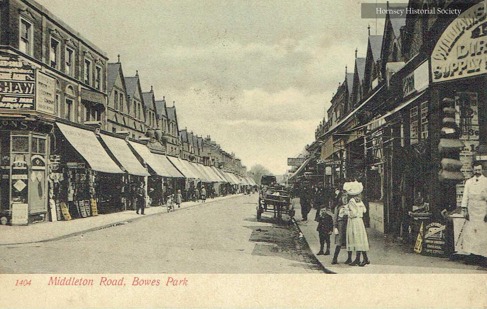 Middleton Road - Bowes Park
