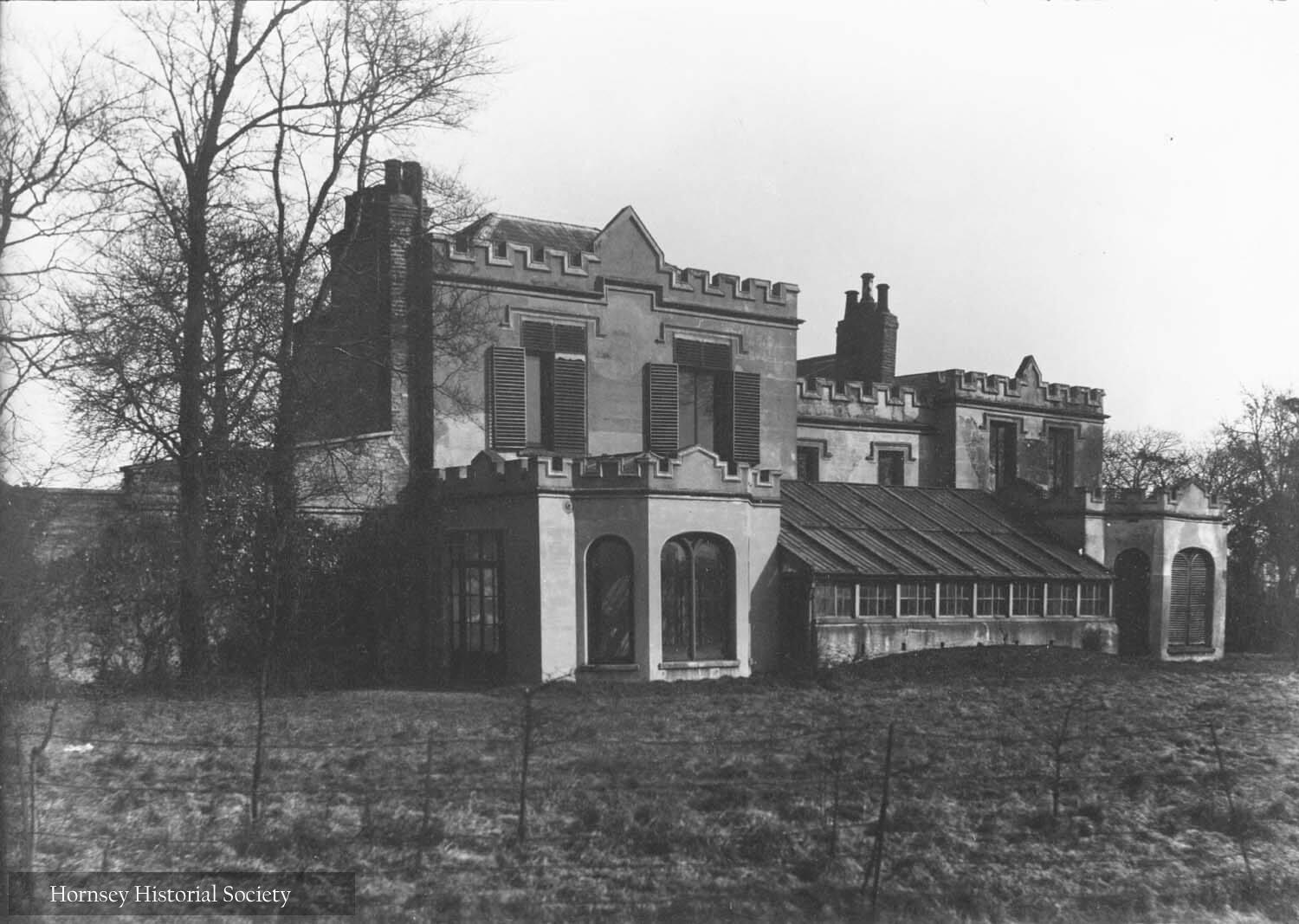 Nightingale Hall Wood Green circa 1894