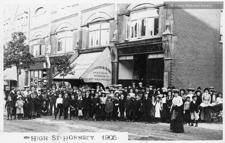 Nos 66-76 Hornsey High Street 1906