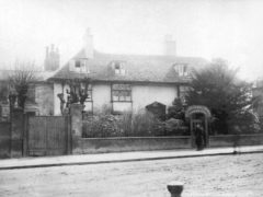 Old Crouch Hall Crouch End circa 1885