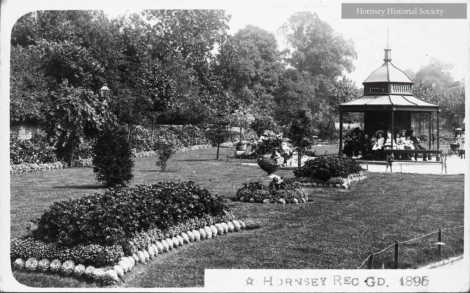 Recreation Ground Hornsey High Street 1896
