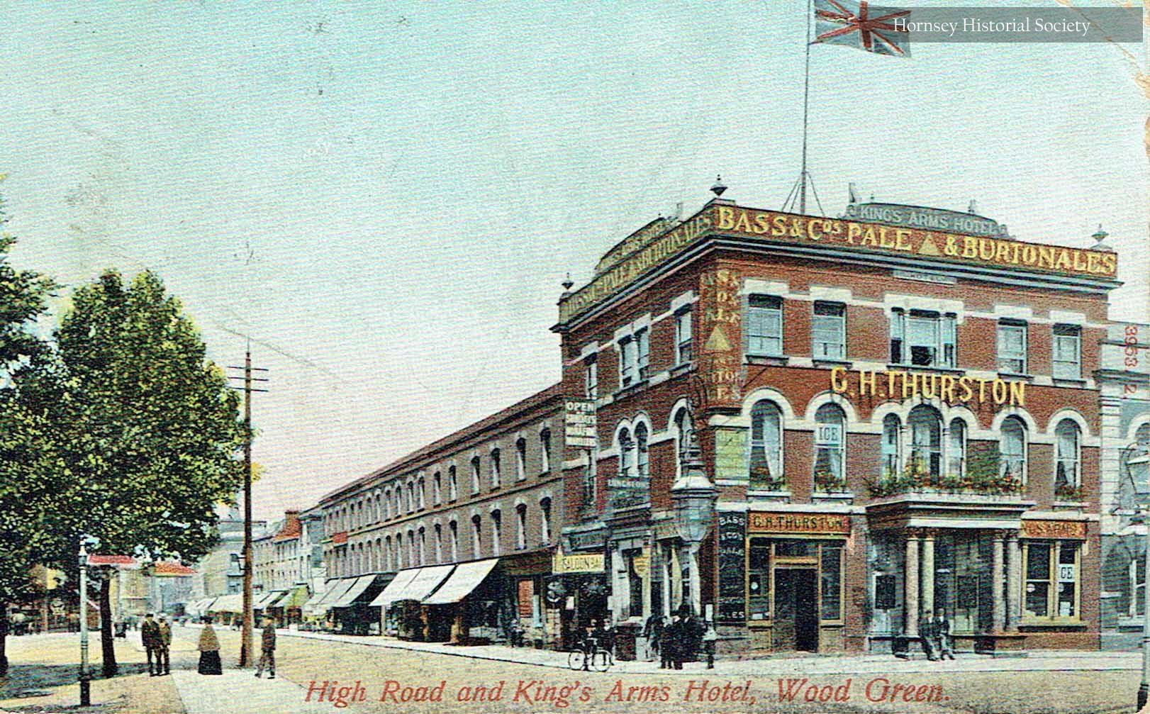 The Kings Arms Hotel, High Road