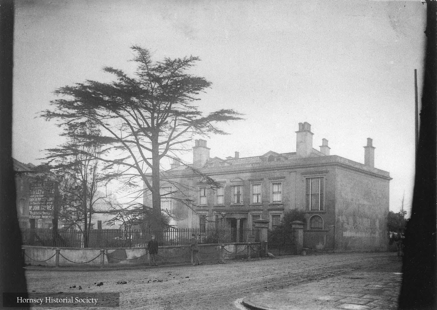 Topsfield Hall Crouch End circa1894